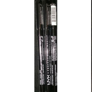 3 New Nyx Makeup Eye Pencil Black SPE901